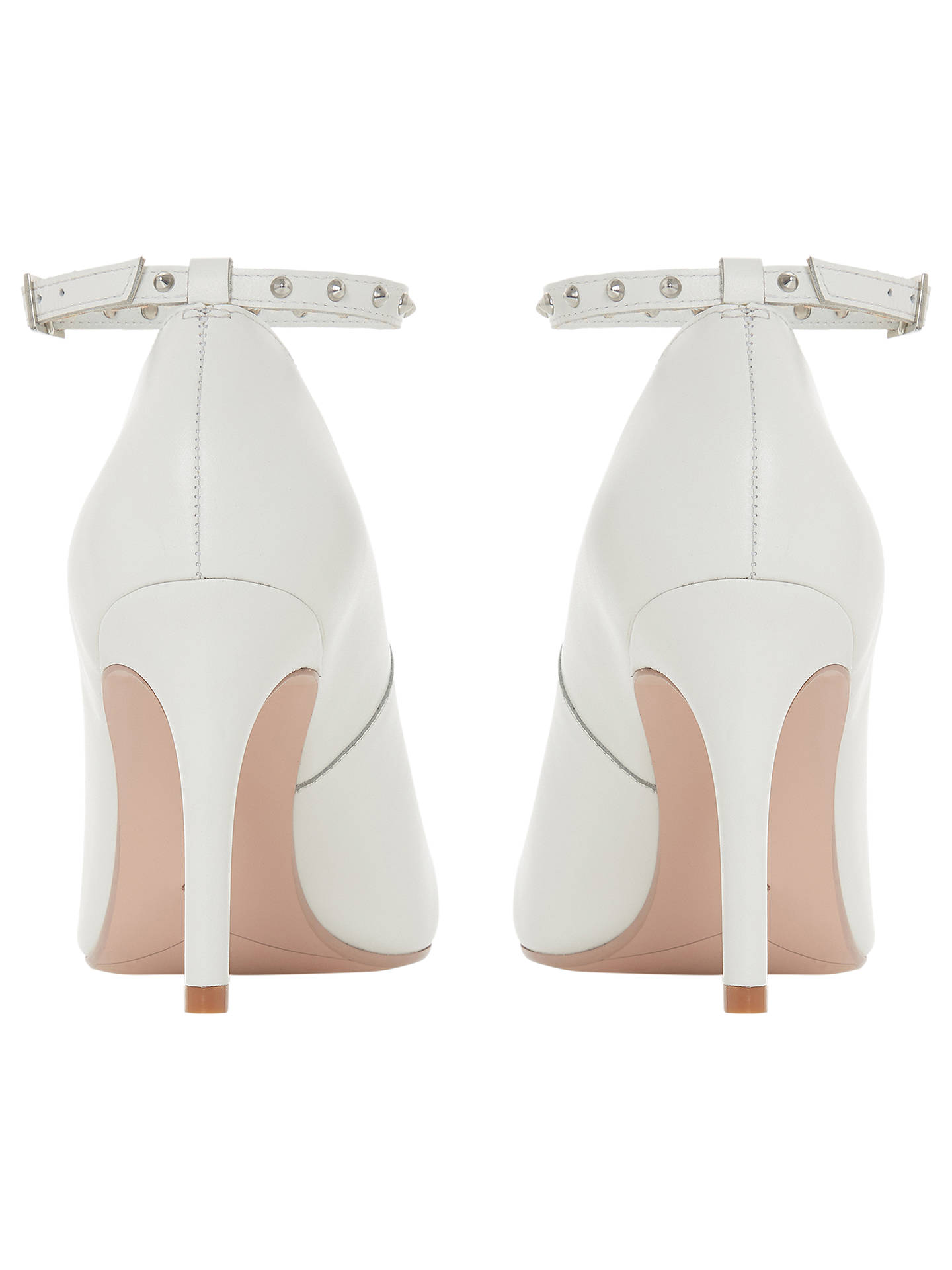 039b6b035b6 Dune Ara Ankle Strap Stiletto Heel Court Shoes at John Lewis   Partners