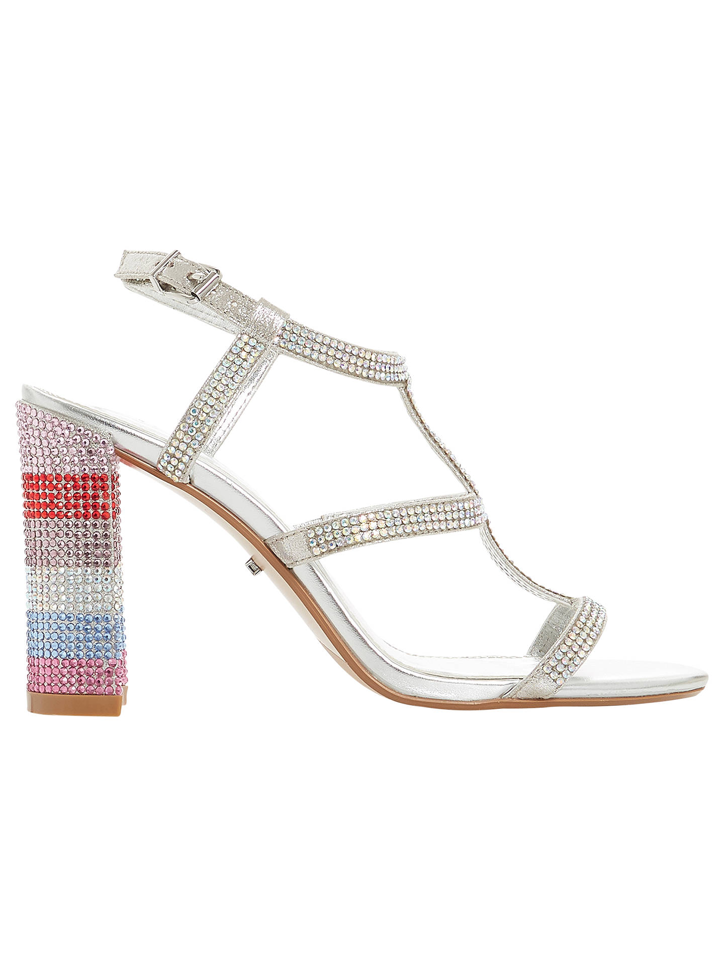 2c75f39d543 Buy Dune Marisole Diamante Encrusted Block Heel Sandals