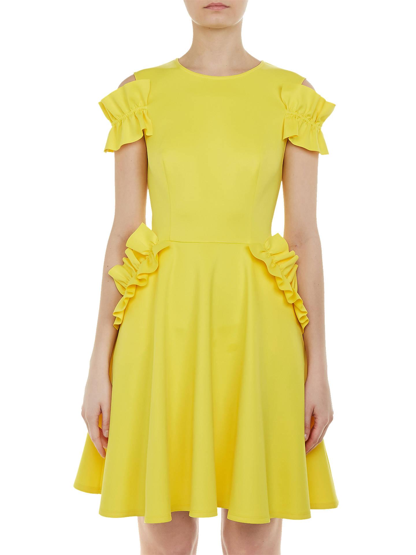 19e135dee2d49 Ted Baker Deneese Ruffle Detail Dress at John Lewis   Partners
