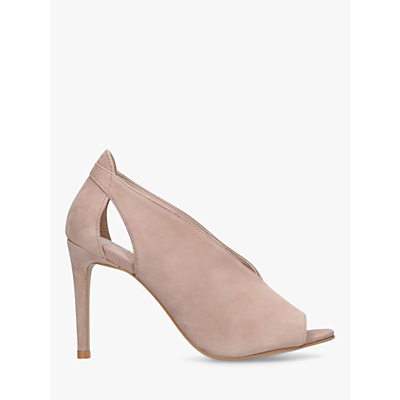Carvela Kurt Geiger Alpha High Stiletto Heel Sandals, Neutral