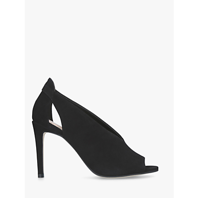 Carvela Kurt Geiger Alpha High Stiletto Heel Sandals, Black