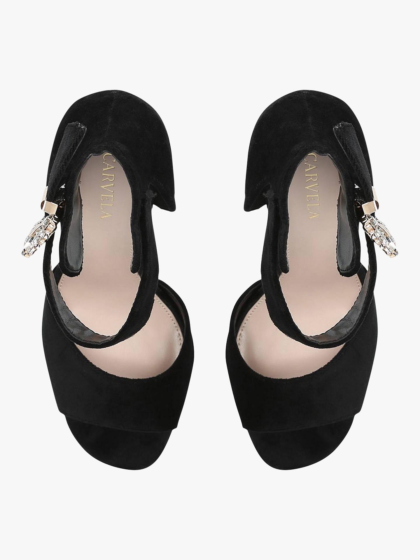 dfeb6413ea0041 Carvela Lovesick Jewelled Buckle Sandals at John Lewis   Partners