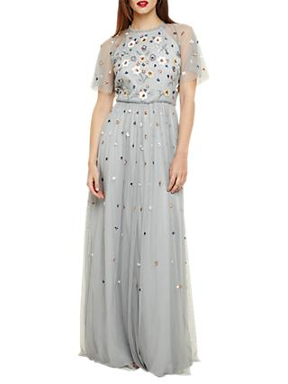 Phase Eight Collection 8 Celestra Maxi Dress, Sky Blue