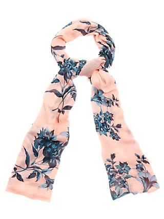 Phase Eight Sahara Floral Scarf, Lipstick