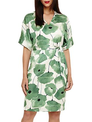 Phase Eight Dee Floral Dress, Jade