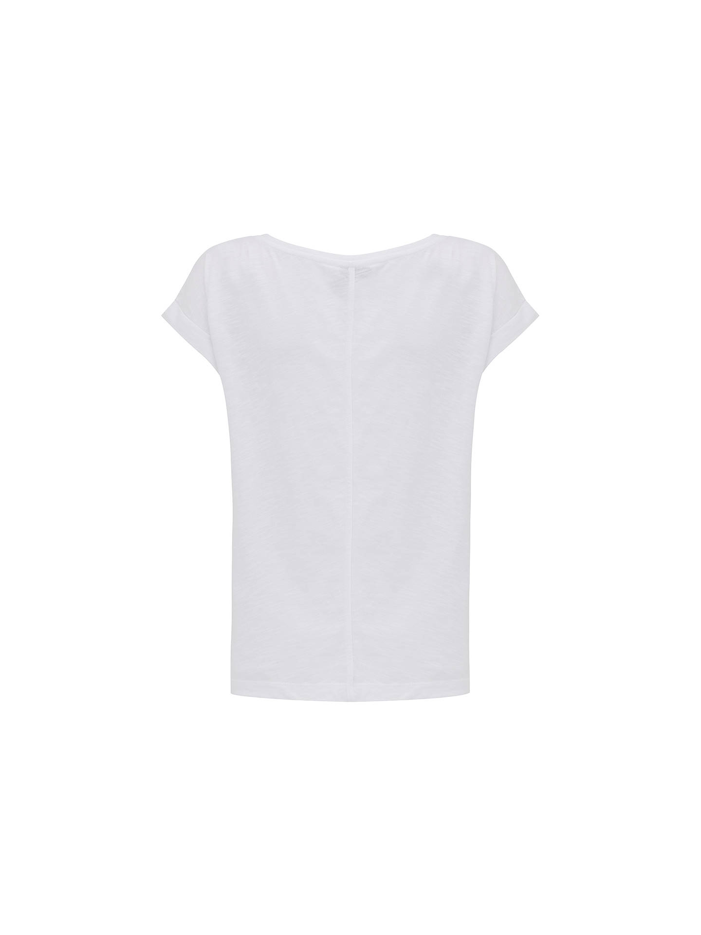 88506a931ddc ... Buy Mint Velvet Leopard Foil Printed T-Shirt, White, M Online at  johnlewis