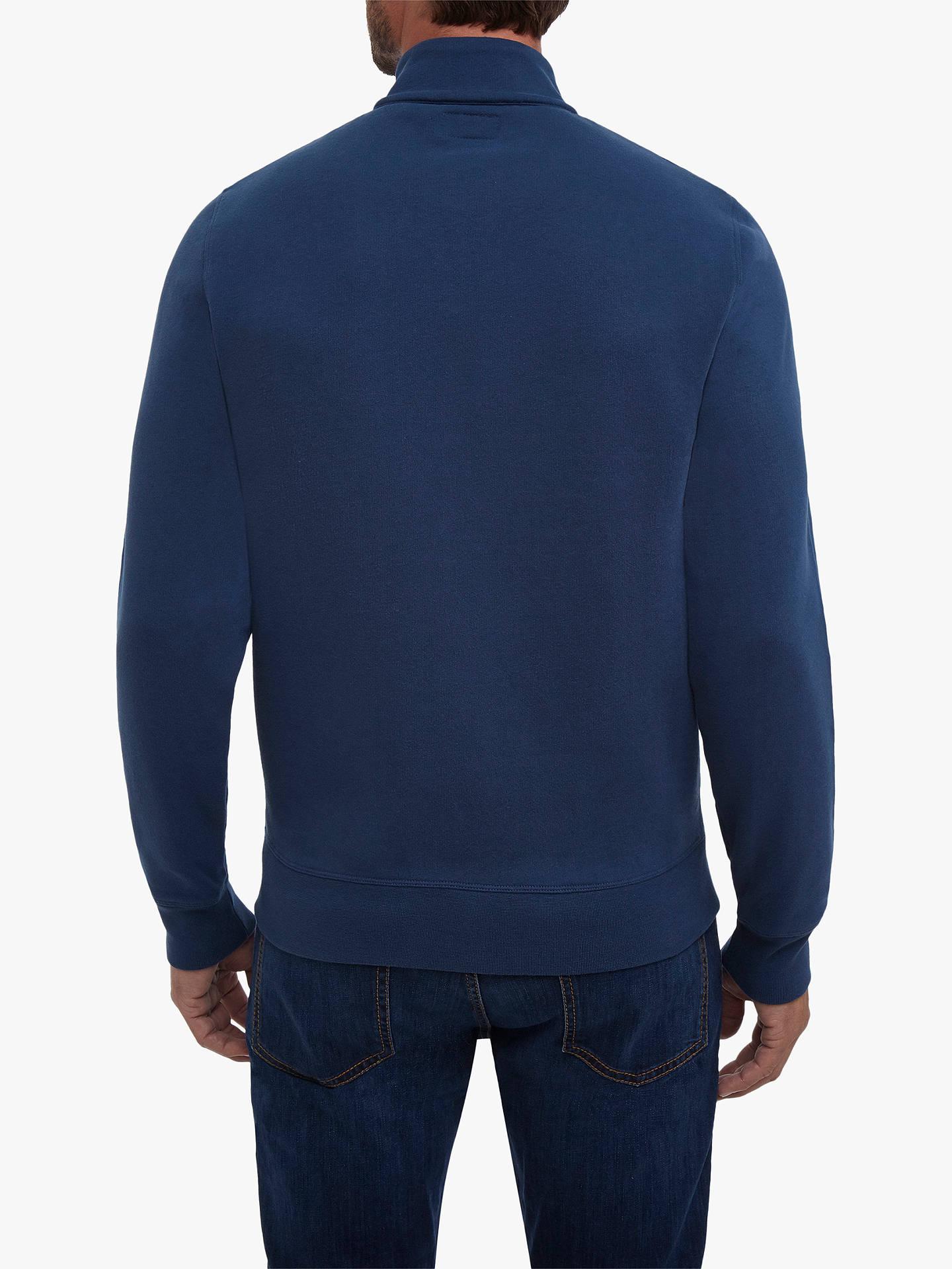 Hackett LONDON MR Classic Blue Full Zip Jumper