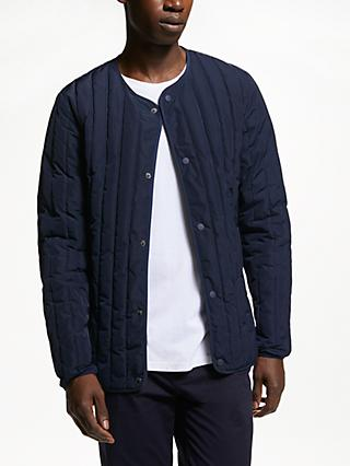 Kin Quilted Jacket, Navy