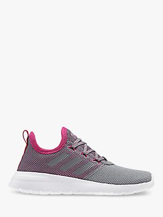 adidas Children's Lite Racer Trainers, Grey