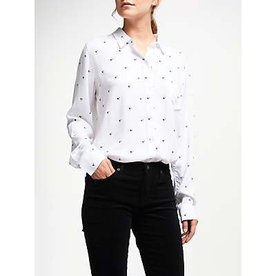 Rails Rosci Electric Heart Blouse, White