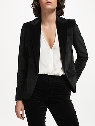 Helene For Denim Wardrobe Carine Blazer, Black