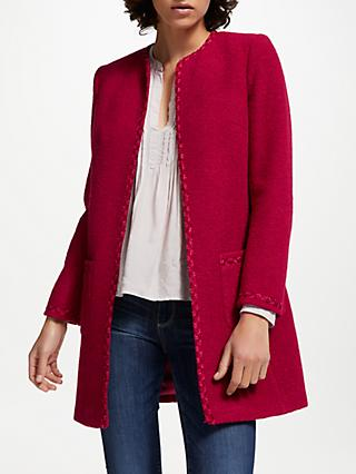 Helene For Denim Wardrobe Alice Jacket, Red Daum