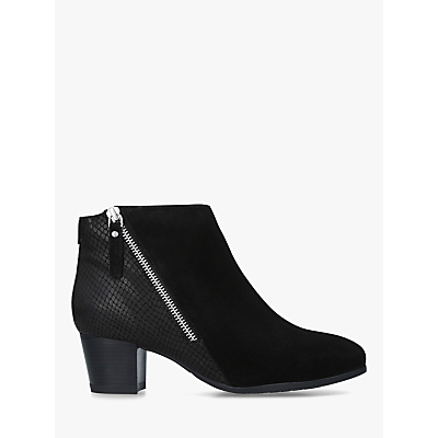 Carvela Comfort Rachel Side Zip Ankle Boots