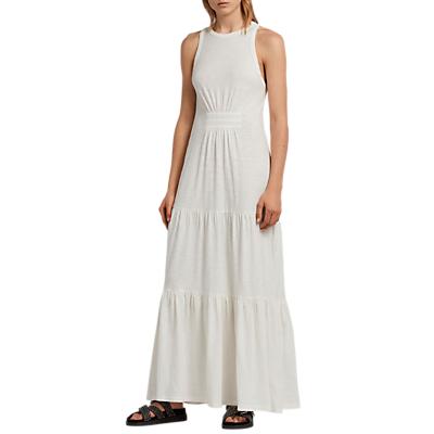 AllSaints Bello Dress, Chalk White
