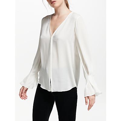 Joie Latacia Silk Blouse, White