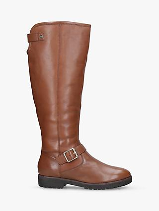 Carvela Samba Buckle Detail Knee High Boots