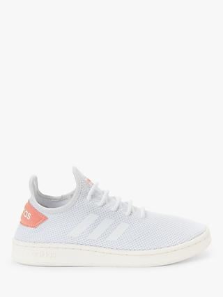 adidas Court Adapt Women's Trainers, White/Dust Pink