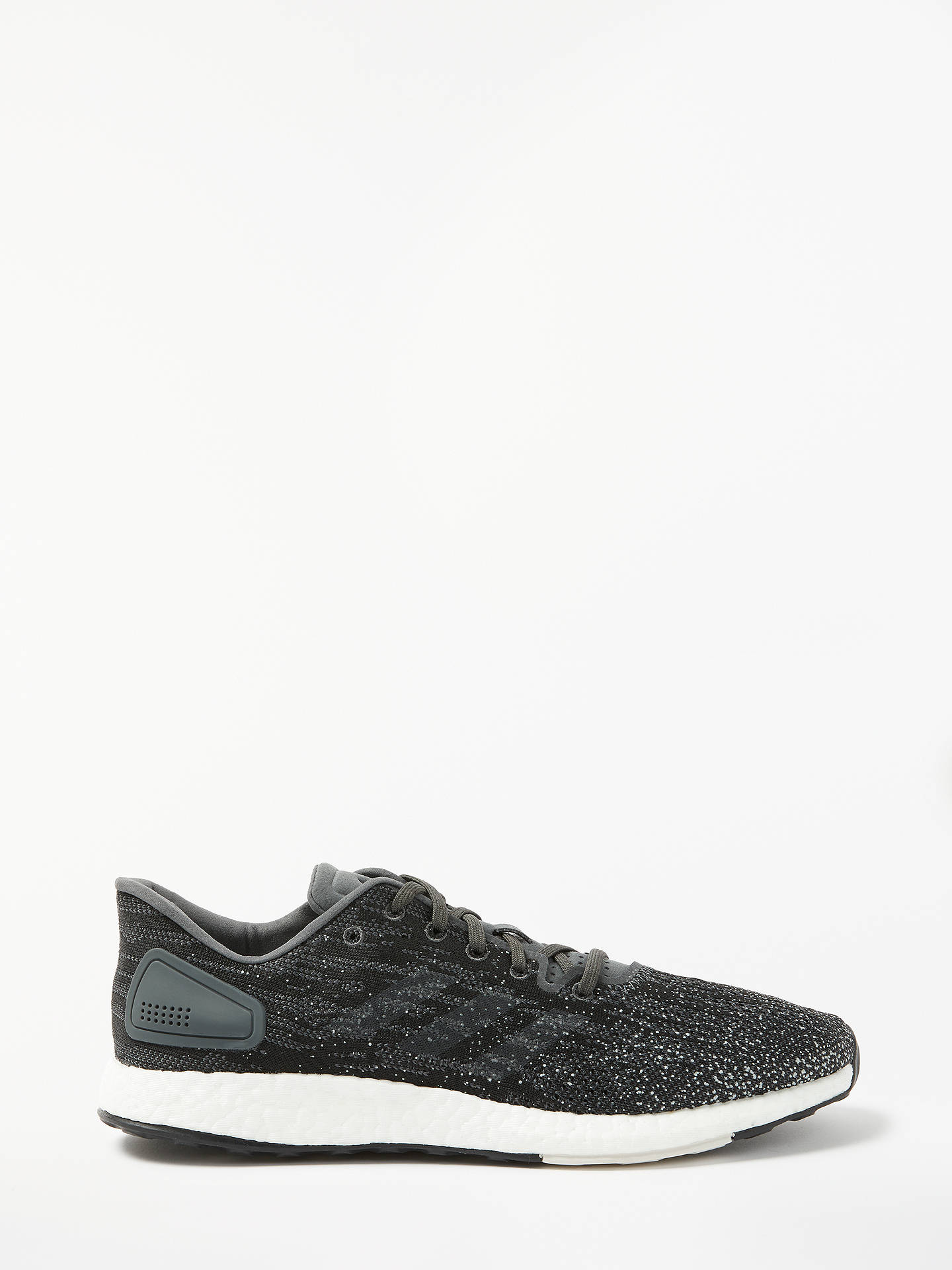 new concept ecd74 f75ac Buyadidas PureBoost DPR Mens Running Shoes, Grey SixRaw White, 7.5 Online  at ...