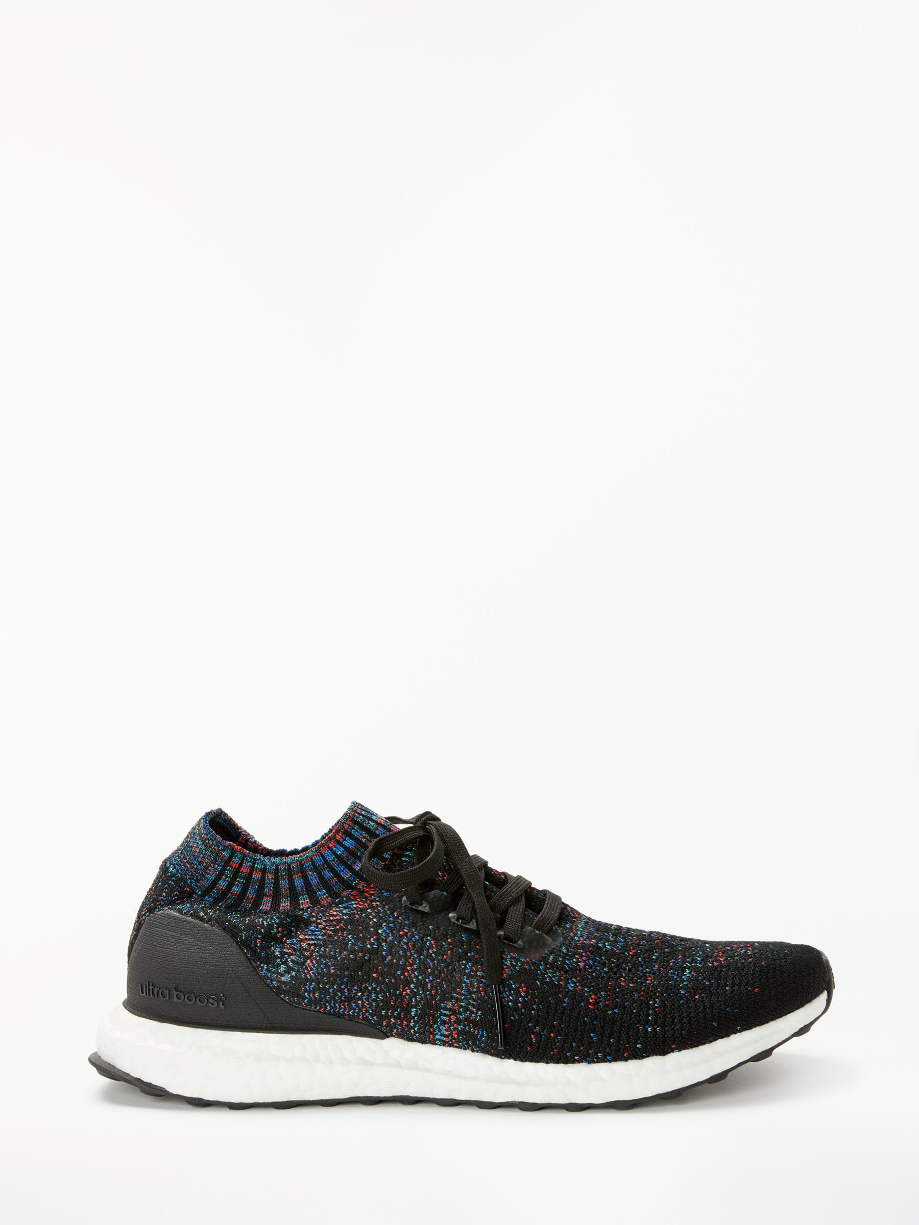 58b7aaee2 adidas UltraBOOST Uncaged Men's Running Shoes, Core Black/Active Red at  John Lewis & Partners