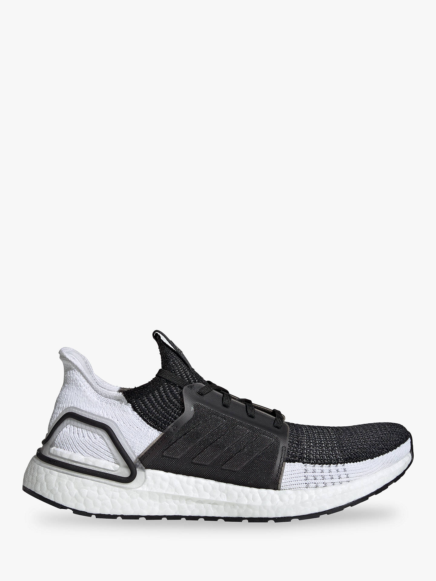 6baf49461f4 adidas UltraBOOST 19 Men's Running Shoes, Core Black/Grey Six at ...