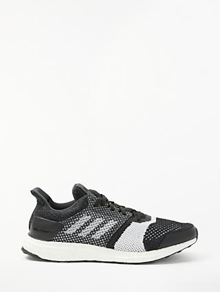 adidas UltraBOOST ST Men's Running Shoes, Core Black/Carbon
