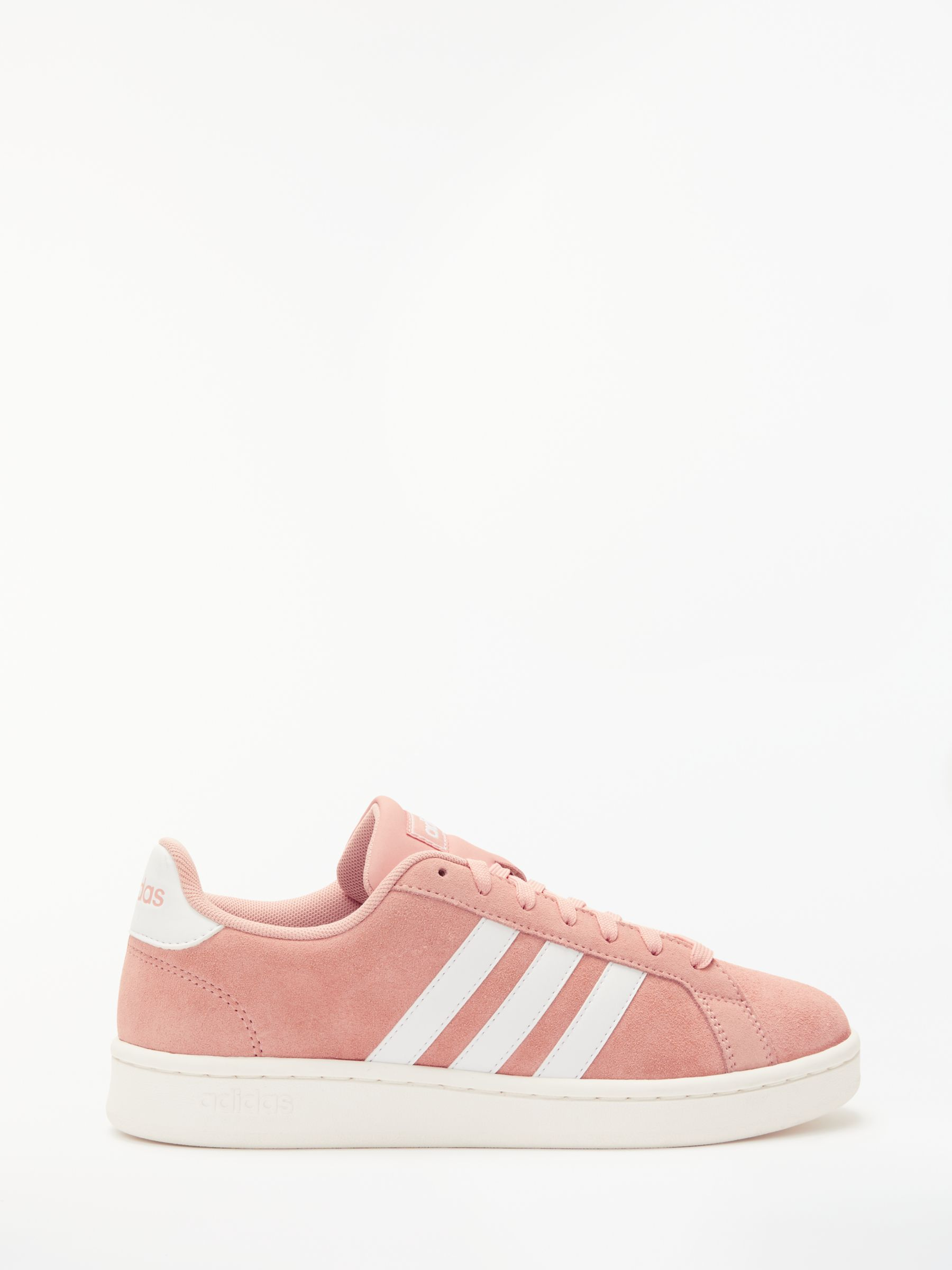 adidas Grand Court Women's Trainers, Dust PinkFTWR White at