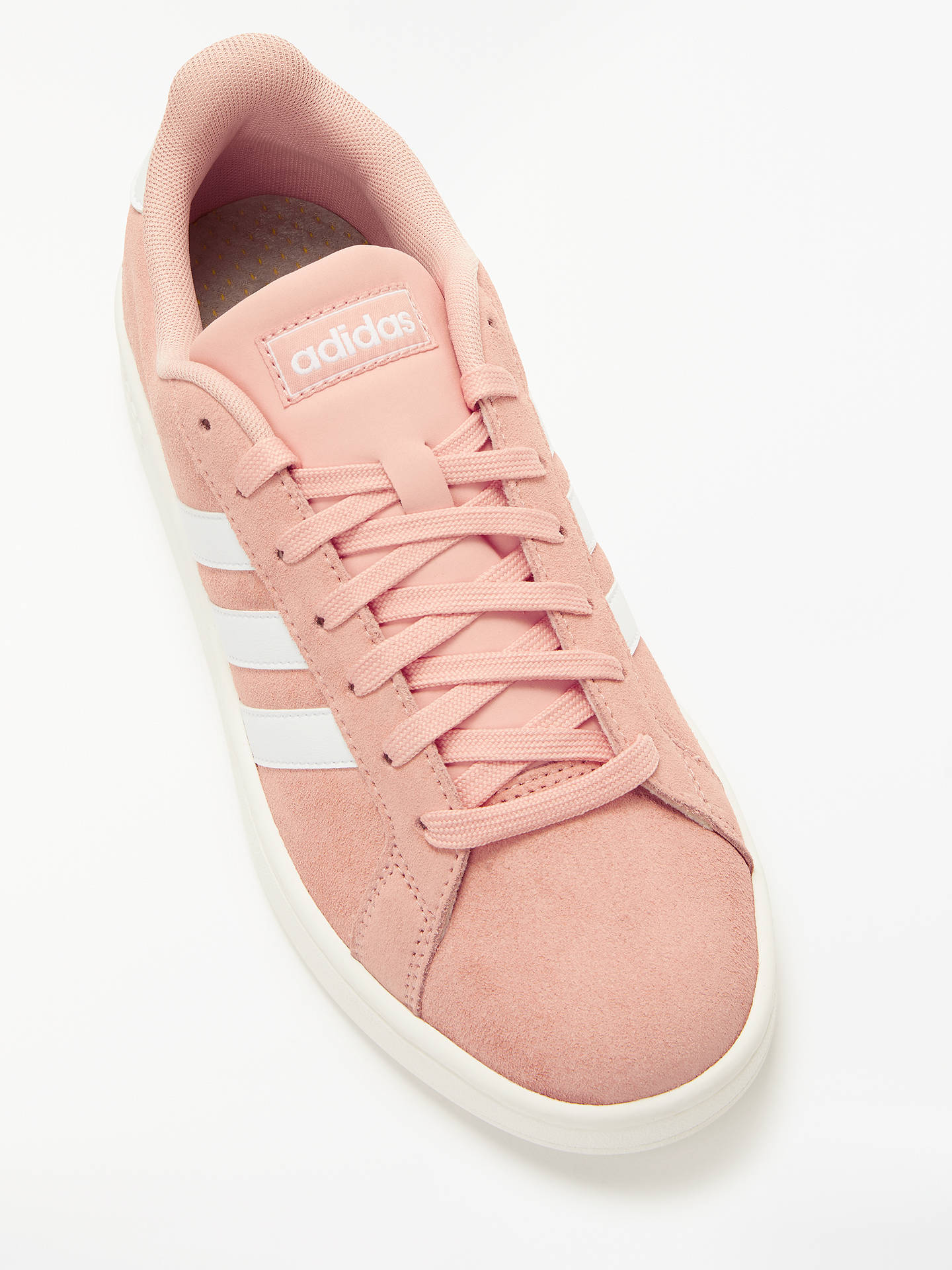 the best attitude c0dc5 ad62c ... Buy adidas Grand Court Women s Trainers, Dust Pink FTWR White, 4 Online  at ...