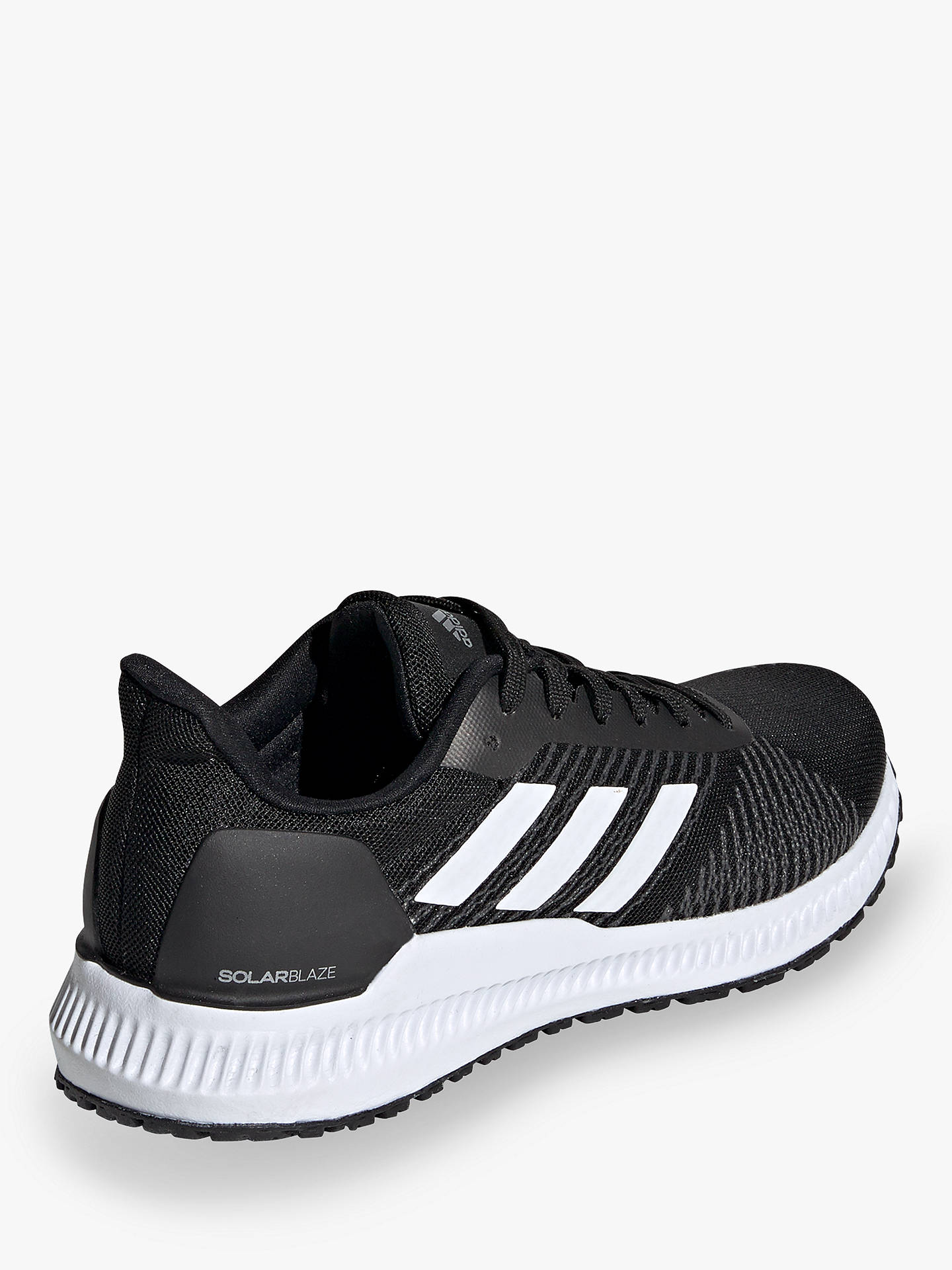 adidas Solar Blaze Women's Running Shoes, Black/White/Grey