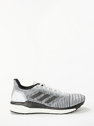 adidas Solar Drive Men's Running Shoes, White/Core Black/Grey