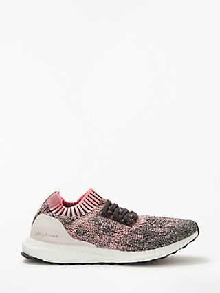 adidas UltraBOOST Uncaged Women's Running Shoes, True Pink/Clear Orange/Carbon