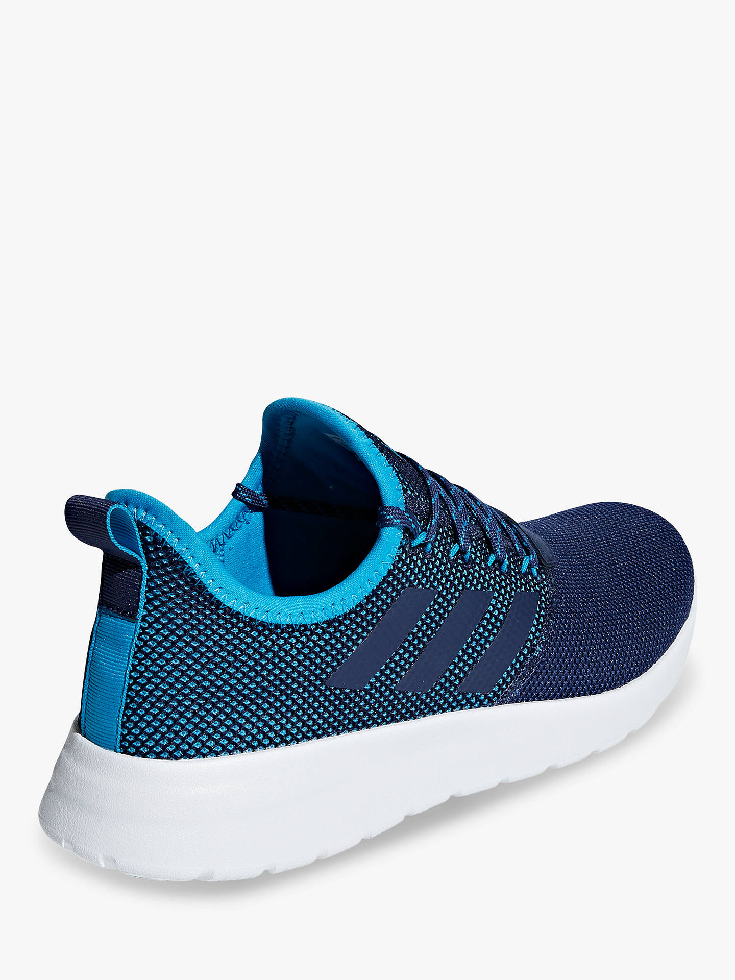 best authentic 7cc7a b5662 ... Buy adidas Lite Racer RBN Men s Trainers, Dark Blue Shock Cyan, 7  Online ...