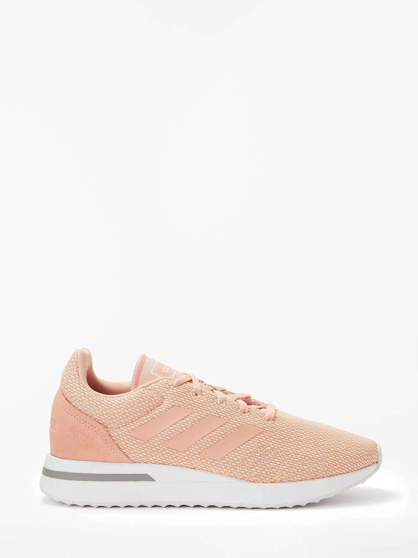 f6798ff1d89 adidas Run 70s Women's Trainers, Clear Orange/Dust Pink/Grey Three ...