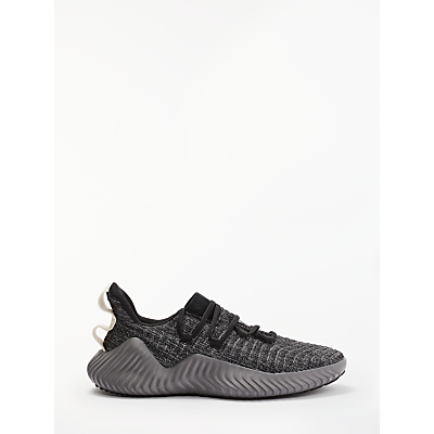 Image of adidas AlphaBounce Men's Trainers, Core Black/Grey