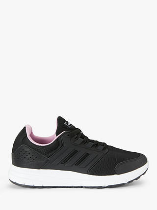 Buy adidas Galaxy 4 Women's Running Shoes, Core Black/True Pink, 4 Online at johnlewis.com