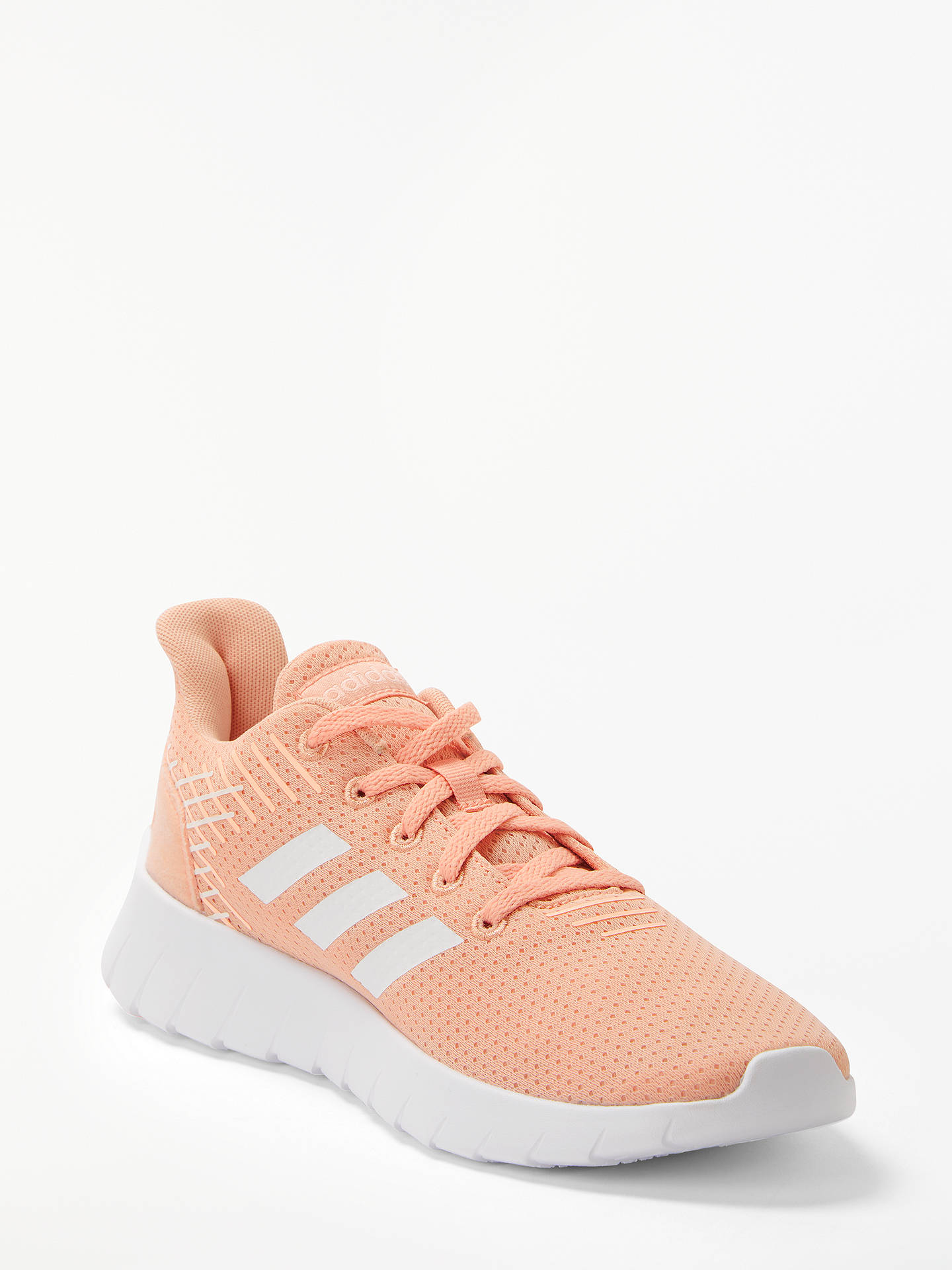 new concept 0cc4d b15ac ... Buy adidas Asweerun Women s Running Shoes, Dust Pink Cloud White, 4  Online at ...