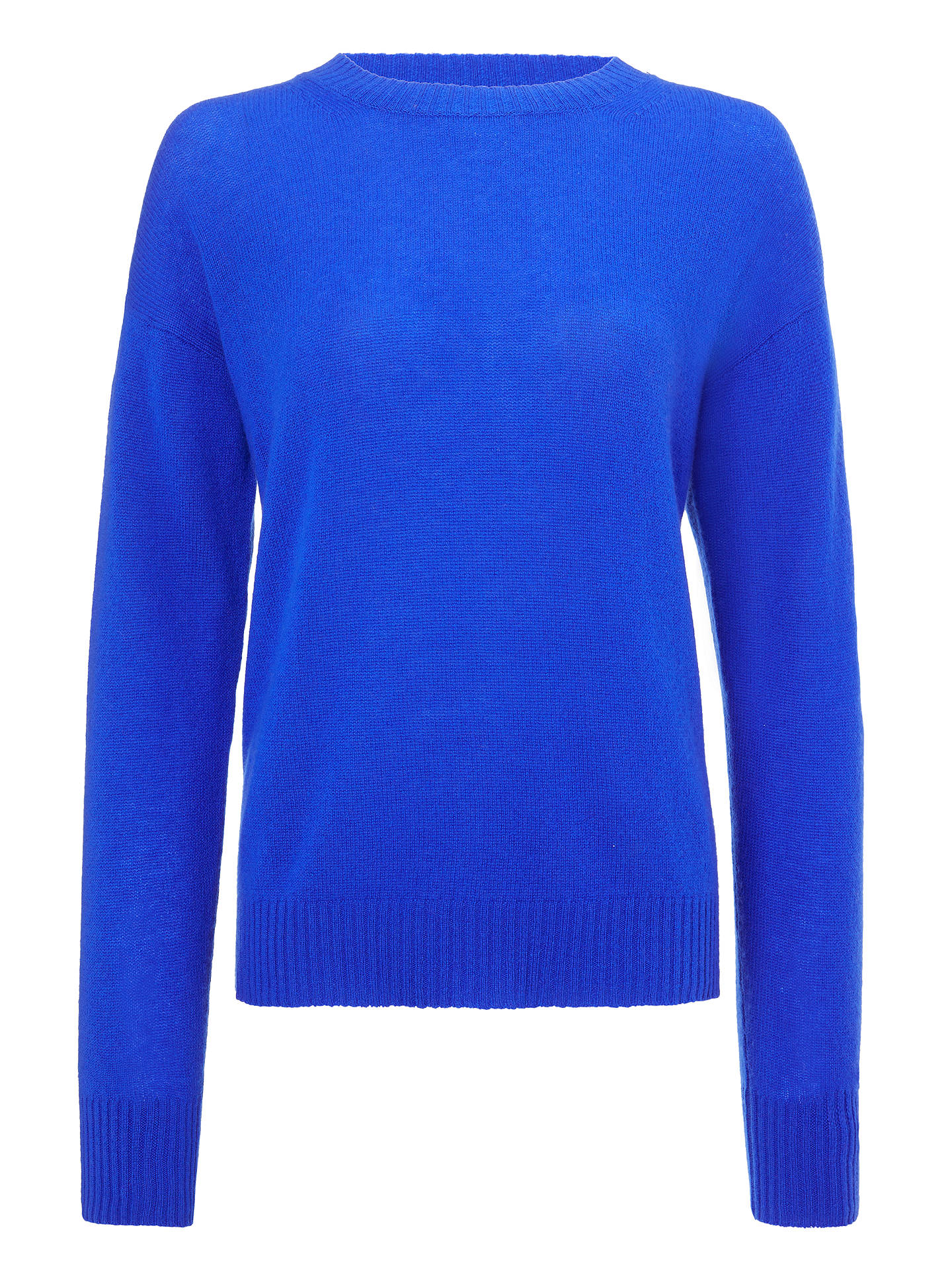 Buy 360 Sweater Oumie Cashmere Jumper, Royal Blue, L Online at johnlewis.com