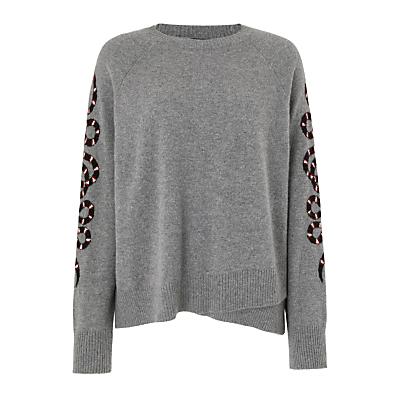 360 Sweater Serpent Cashmere Jumper, Grey