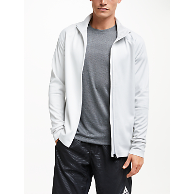 Image of adidas PHX Water Repellent Track Jacket, White/Grey One