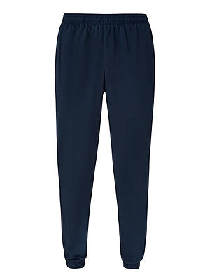Buy adidas Essential Linear Stanford Tracksuit Bottoms, Blue, S Online at johnlewis.com