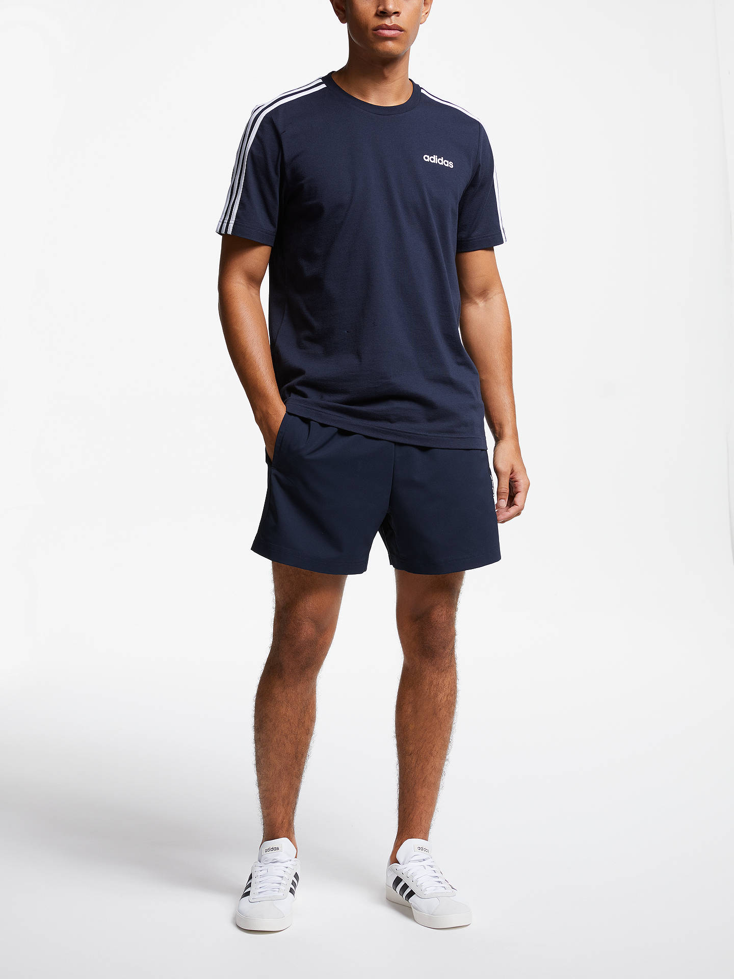 Buyadidas Essentials Chelsea Shorts, Legend Ink, S Online at johnlewis.com