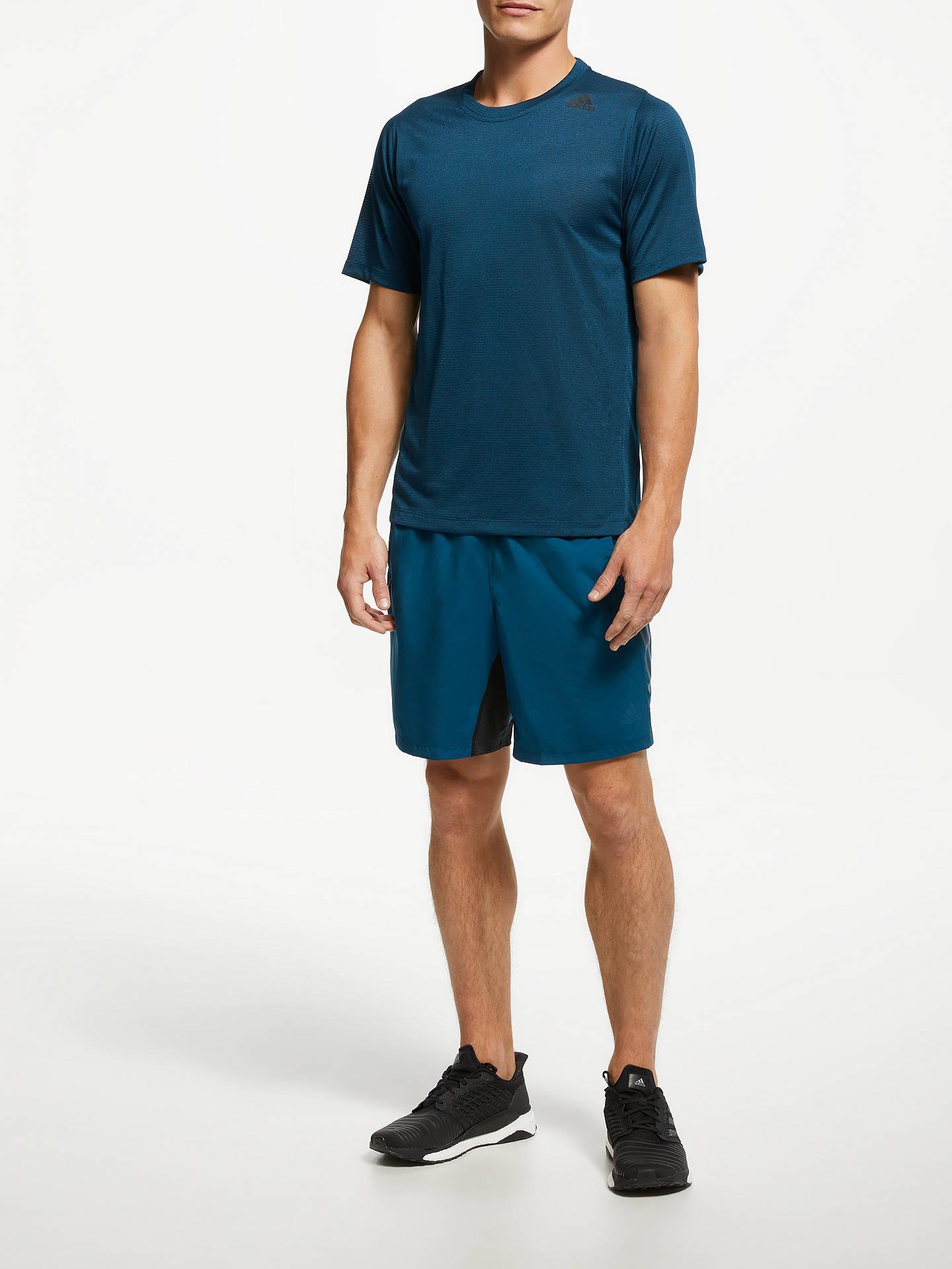 516f4b62d7 adidas 4KRFT Tech Woven 3-Stripes Training Shorts, Legend Marine at ...