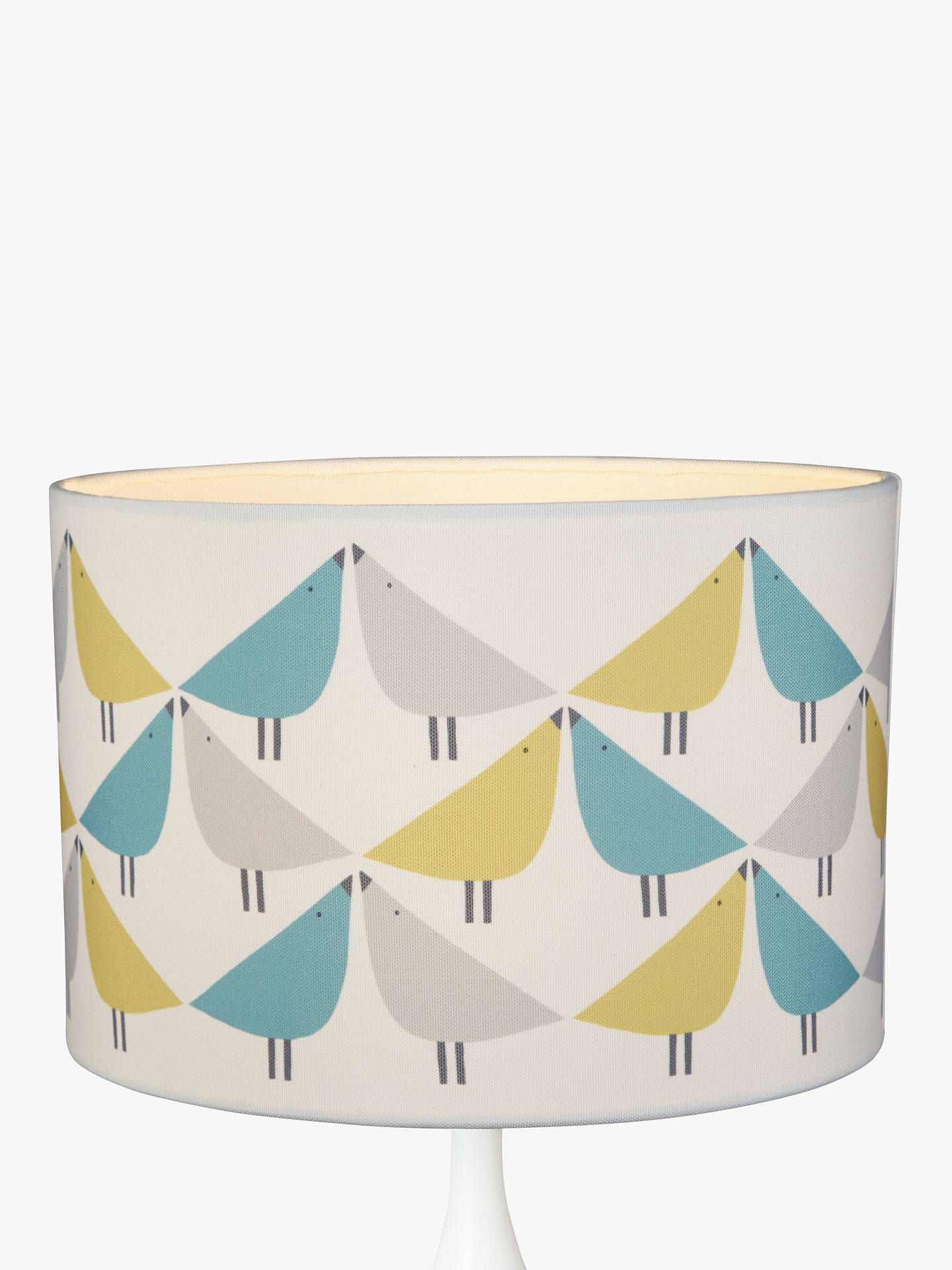 BuyScion Lintu Lampshade, Green/Blue, Dia.30cm Online at johnlewis.com