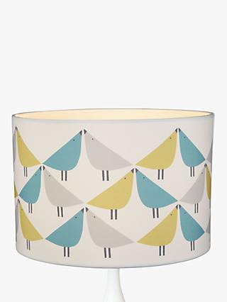 Scion Lintu Lampshade, Green/Blue