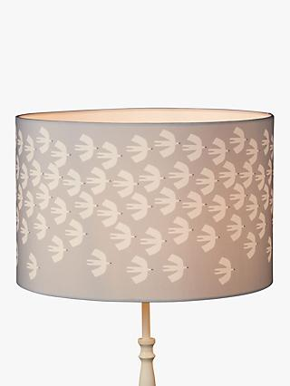 Scion Pajaro Lampshade, Grey/White