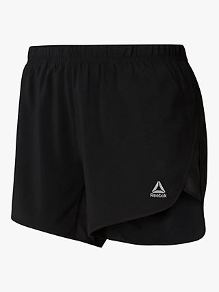 "Reebok Running Essentials 4"" Shorts, Black"