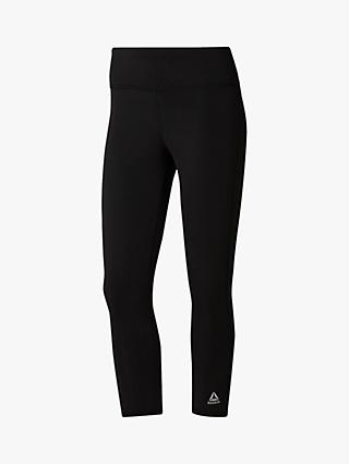 Reebok Classic Workout Cropped Tights, Black