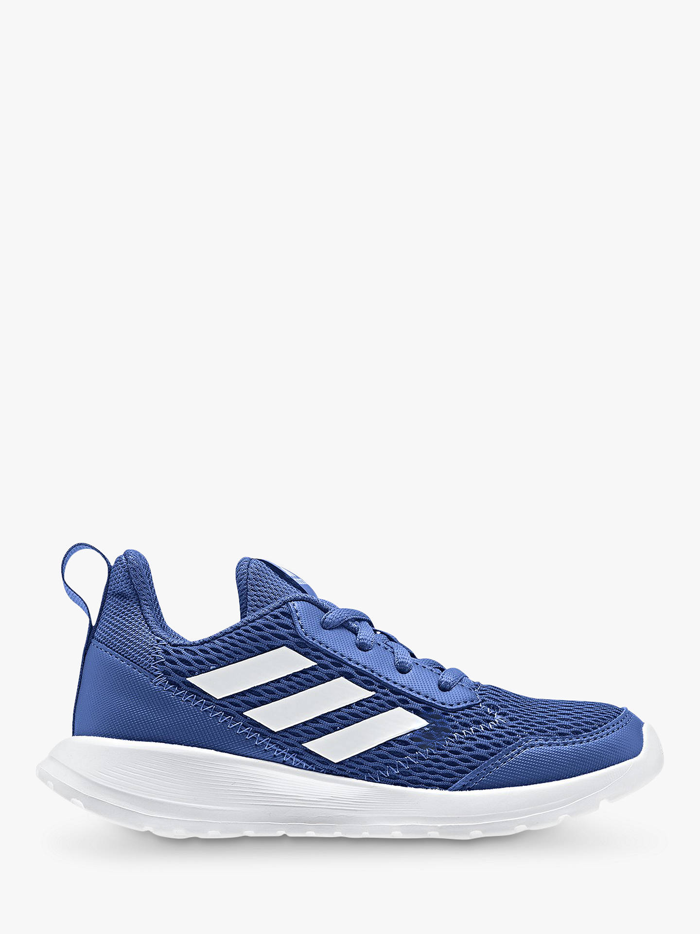3f6ca75ea112 Buy adidas Children's Alta Run K Trainers, Blue, 13 Jnr Online at johnlewis.