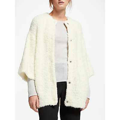 Modern Rarity J. JS Lee Boucle Jacket, Cream