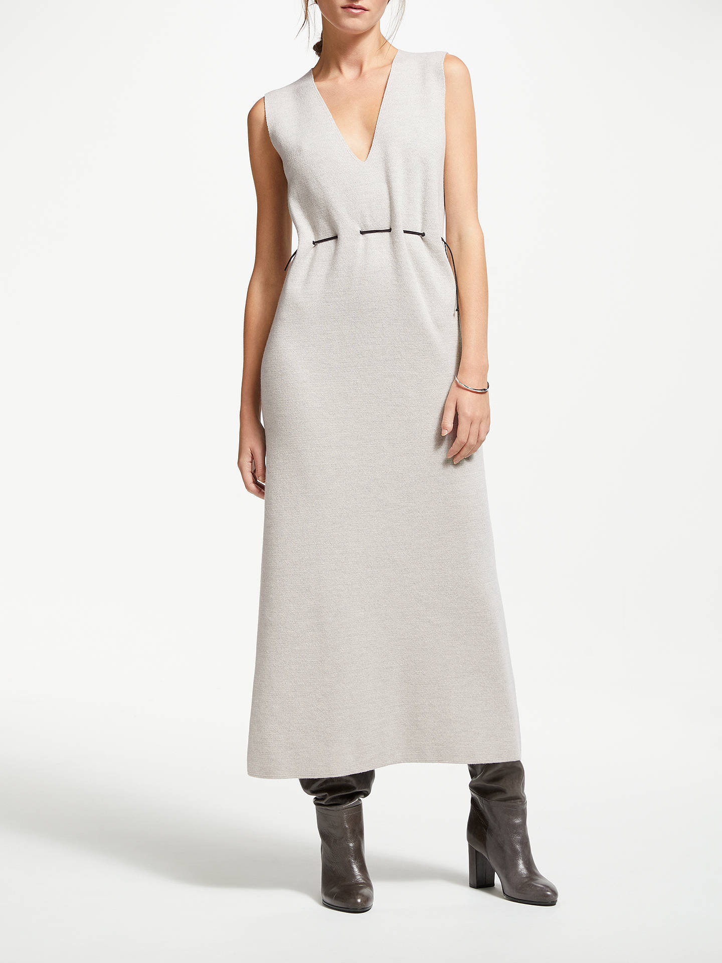 BuyModern Rarity J. JS Lee Double Faced Knitted Dress, Grey, 8 Online at johnlewis.com