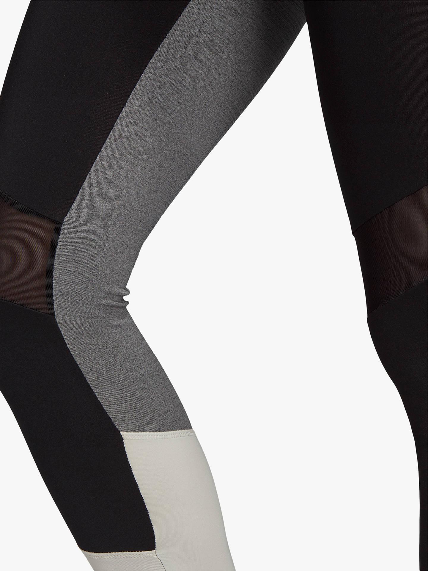 80abeb667d3 adidas Design 2 Move High-Rise 7/8 Training Tights, Black/Raw White ...